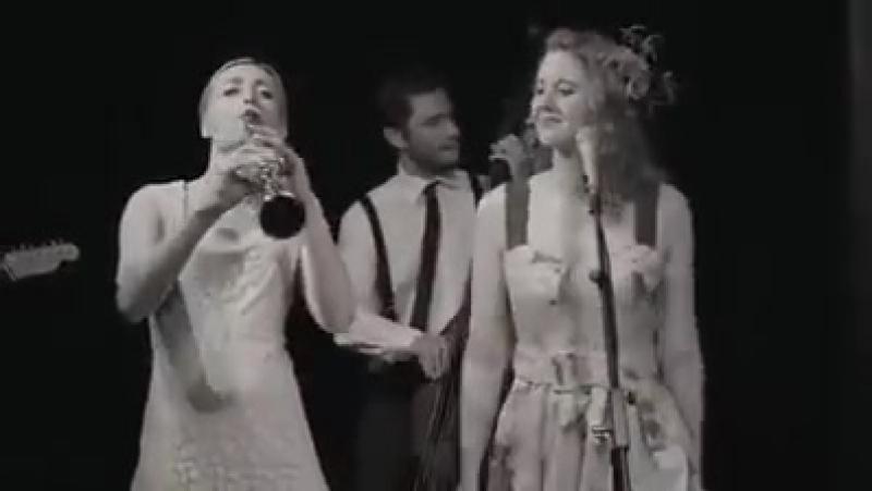 Итальянский ретро-джаз прекрасен Getty Jazzato band