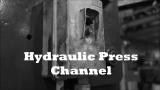 Hydraulic Press Channel - Crushing Vacuum Chamber with Hydraulic Press
