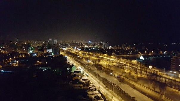 Самара прекрасна и вечером, и ночью)