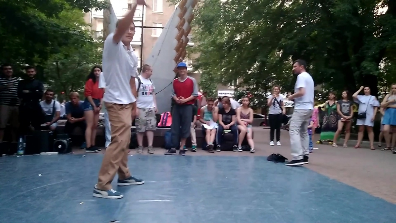 Donetsk Summer Jam | Popping Battle | Easy-R vs Delya (Extra Round)