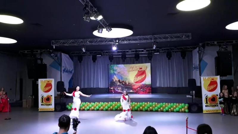 Чемпионат Украины,17.11.17, Киев,дуэт Дочки-Матери