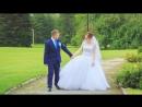 Свадебное слайд шоу с элементами видео.