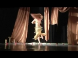 BELLY DANCER ANNA PIPOYAN SHAMADAN CANDELABRA AND DRUM SOLO PROFESSIONAL VIDEO 3255