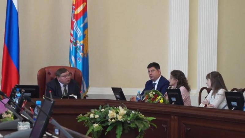 Встреча губернатора П.А.Конькова с выпускниками школ ивановской области