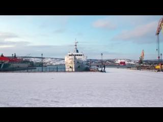 Ночной Мурманск. Прогулка