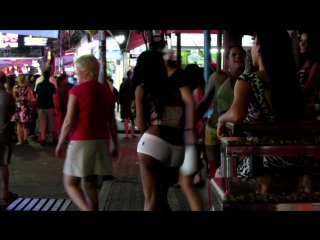 Ladyboys pattaya walking street part 2