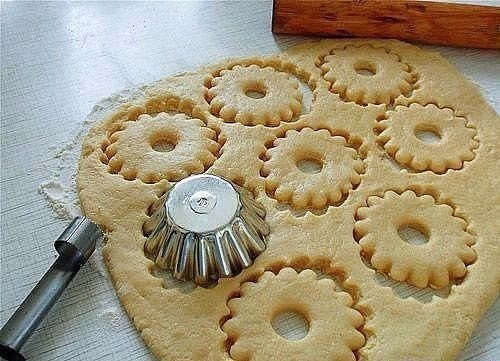 Быстрое песочное тесто. Вкусное печенье!