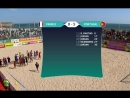 Mundialito 2017. Кашкайш, Португалия. 1-ый тур. Сборная Португалии - сборная Франции.