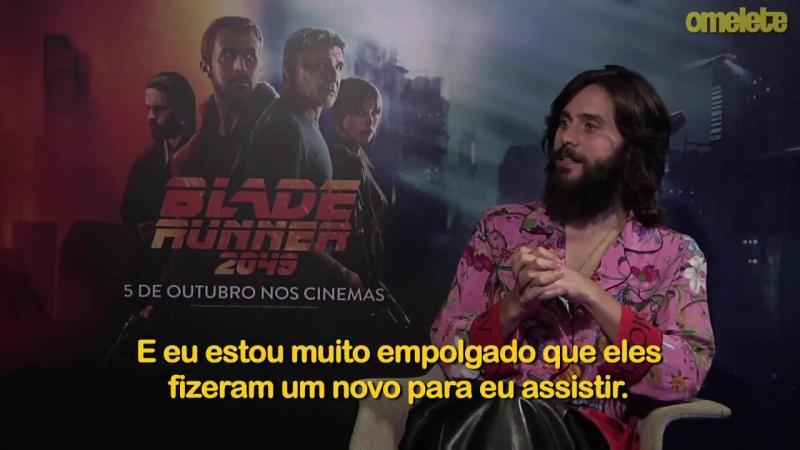Motivos para ver Blade Runner 2049, com Jared Leto e Ryan Gosling ― JGBR
