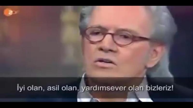 Alman gazeteci Todenhöfer çarpıcı gerçekleri anlattı