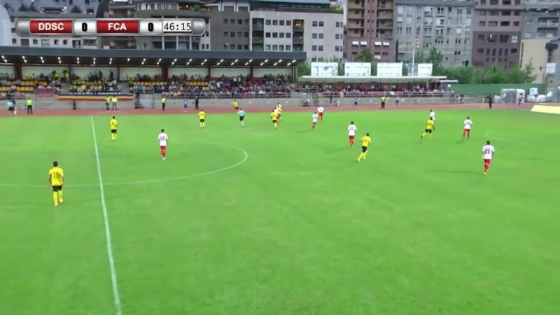 9 CL-2017/2018 FC Santa Coloma - FC Alashkert 1:1 (04.07.2017) FULL