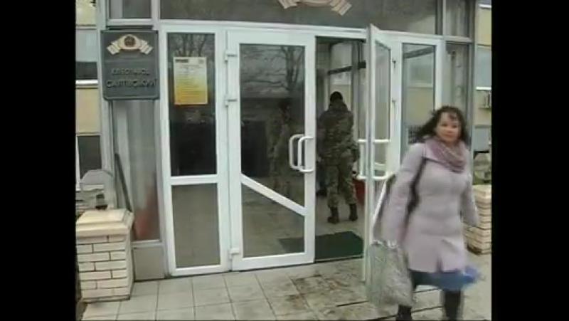 Робітників Салтівського хлібзаводу не пускають на робочі місця (відео)