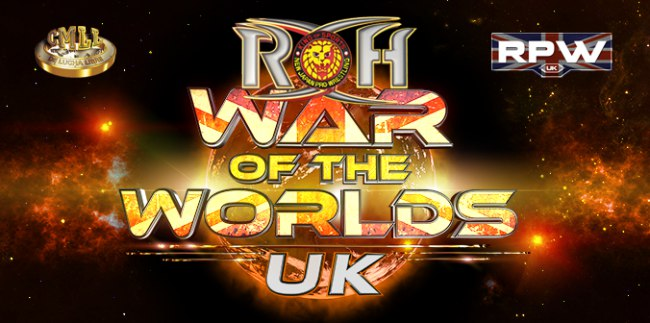 Post image of ROH War of the Worlds UK