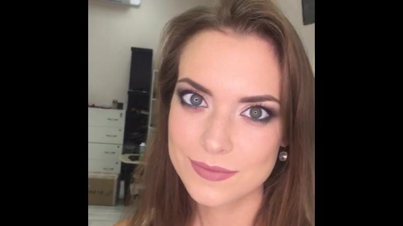 макияж в карандашной технике