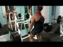 Тяга 215 кг Я Заставил свою спину молить о пощаде А если серьезно это яркий пример как становлюсь тягу делать нельзя