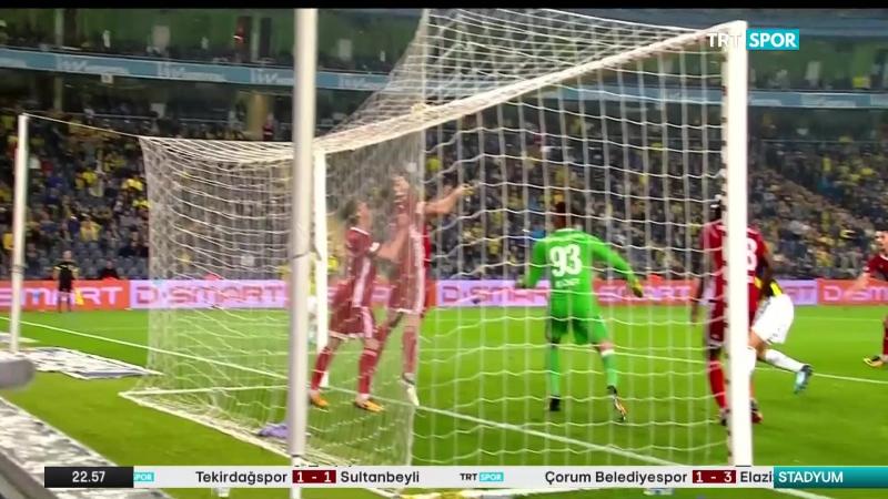 Fenerbahçe 4 1 Demir Grup Sivasspor 19 11 2017 1080p HD