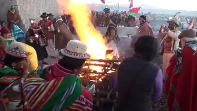 Ceremonia del Inti Raymi y Ceremonia de Bienestar. Jujuy. 20_21 de junio de 2012