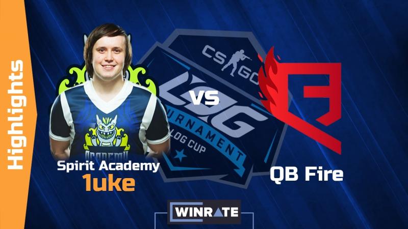 Spirit Academy.1uke vs QBFire | AWP AK-47 Ace