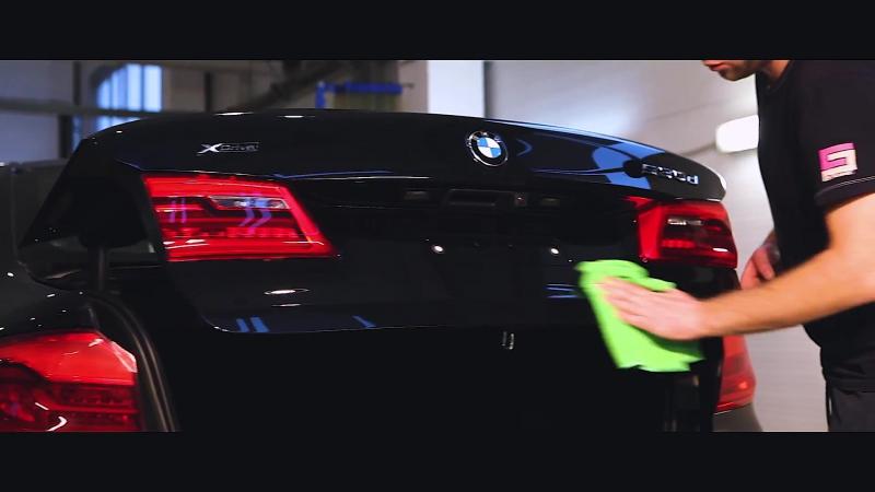 Подготовка к презентации BMW 5 серии (G30) для дилерского салона Модус
