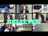 Believer - Imagine Dragons (Kelaska Ukulele Cover KITCHEN EDITION)
