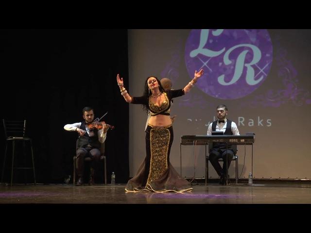 Natalia Pavlovskaya with Ensemble Khayam, Esal Rouhak, Layali Raks festival 2017