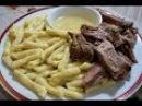 Жижиг-галныш мясо с галушками