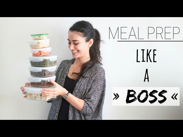 MEAL PREP » minimize time in the kitchen