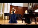 Ravel Tzigane Anna Savkina and Natalia Igumnova
