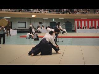 Okamoto Yoko Shihan (岡本洋子) - 55th All Japan Aikido Demonstration (2017)