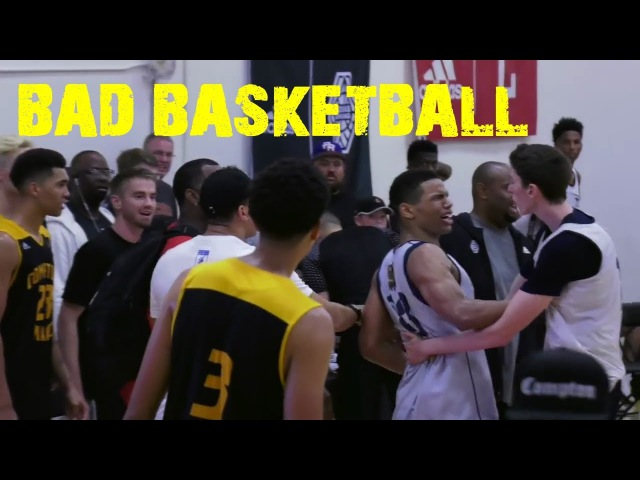 BAD BASKETBALL PART 1 Fights Flagrants Foul Play High School Edition 100% SAVAGE