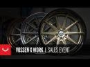 Vossen x Work | Sales Event | Ends October 31st.