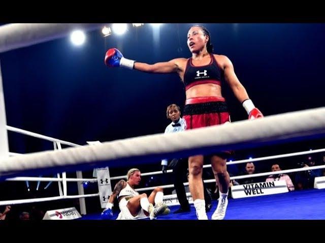 Cecilia Brækhus vs Mikaela Lauren 6 Round Final KO and Highlights