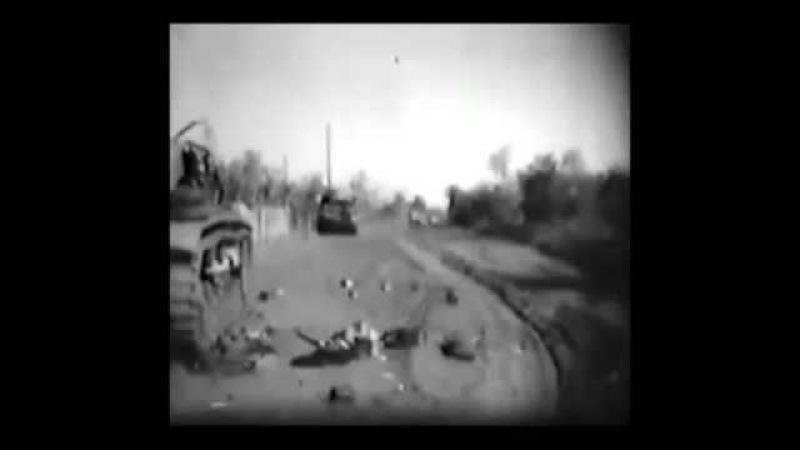 Мелитополь 1943 год кинохроника
