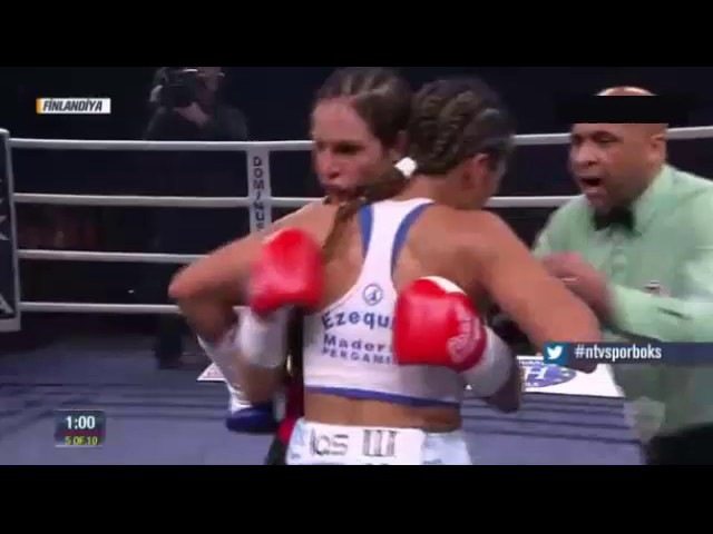 Eva Wahlstrom vs Anai Esther Sanchez UD-1O FULL FIGHT WBC Super Featherweight Helsinki