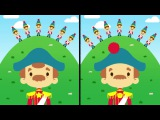 The Noble Duke of York Sing-Along Song for Kids Spot the Differences The Kiboomers