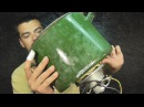 Дробилка зерна из двигателя от пылесоса