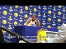 DURANT, GSWMediaDay: White House, Trump, Casspi, Nick Young, contract discount, Draymond laughing