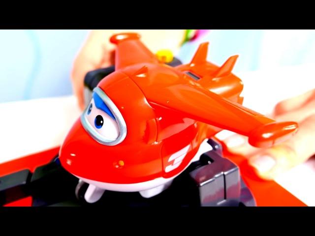 Развивающее видео для детей. Игрушки из мультфильмов. Суперкрылья Джет и его друзья.