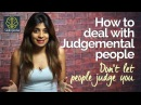 How to deal with Judgemental people Personality Development video by Skillopedia Niharika