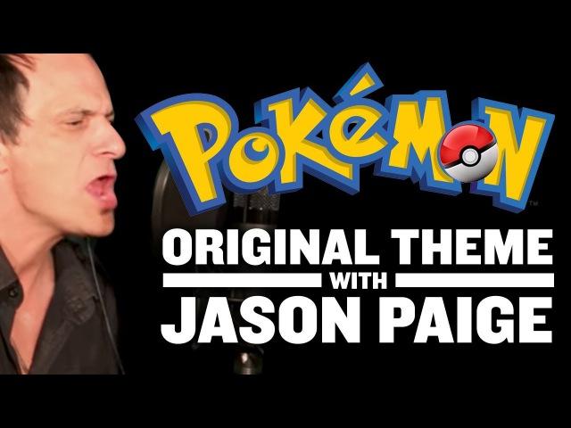 Original Pokemon Theme Singer Jason Paige In Studio Full Theme