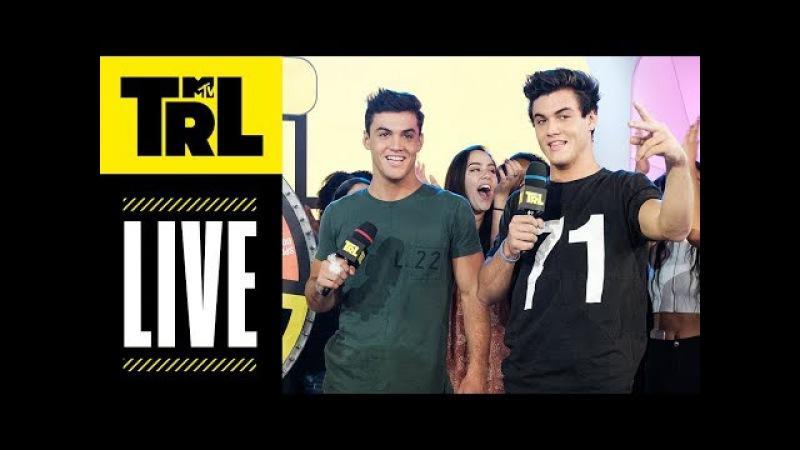 The Dolan Twins, Fatboy SSE, Hayley Kiyoko JoAnna Garcia Swisher Today! | TRL