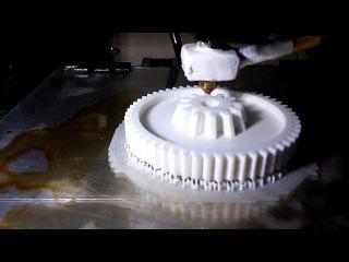 Печать шестерни кухонного комбайна Philips