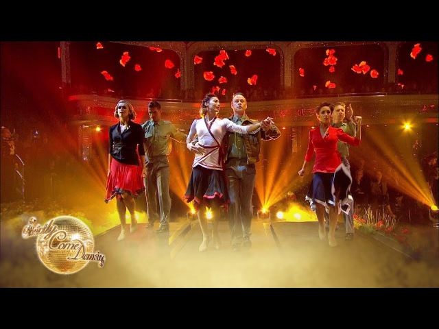 The Pro Dancers perform an emotional tribute on Remembrance Sunday - Strictly Come Dancing 2017