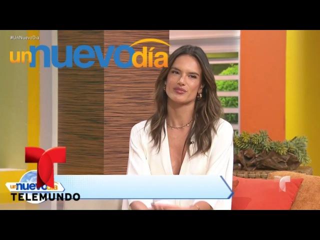 Alessandra Ambrosio cuenta todo sobre su nueva película Un Nuevo Día Telemundo