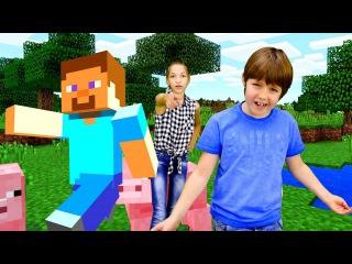 Эволюция #МАЙНКРАФТ Видео обзор #Игробой Адриан и #ЛучшаяПодружка Света #Minecraft Иг...