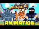 Clash Royale Parody Animation - Mega Knight vs PEKKA (New lengendary Card)