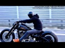 Harley-Davidson Custom FXSB Breakout Slow Shooting