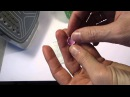 Мастер-класс Как задекорировать новогодний шар с помощью цветочков из фоамирана!