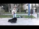Выступление на набережной в Ялте