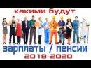 Правительство утвердило зарплаты на 2018 2020 годы Забудьте о своих пенсиях Pravda GlazaRezhet